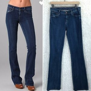 Passion Bootcut Jeans Mid Rise Dark Wash Goldsign